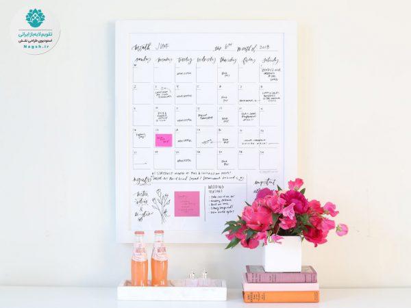 تقویم دیواری یادداشتی